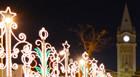 Iluminação de Natal é inaugurada em Araxá