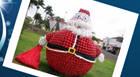 Prefeitura inaugura decoração de Natal da Praça Governador Valadares