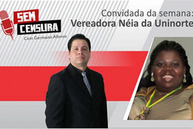 Néia da Uninorte afirma que não é tratada como os demais vereadores na Câmara Municipal