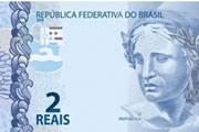 Novas cédulas de R$ 2 e R$ 5 entraram em circulação nesta segunda-feira