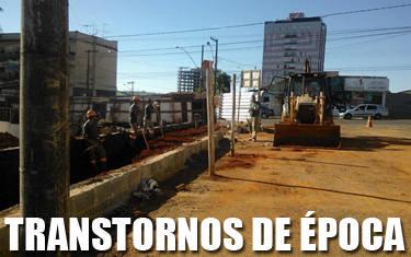 Moradores da rua Francelino Cardoso reclamam de transtornos causados por obra