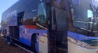Bandidos disparam tiros em ônibus na BR-452