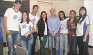 Fabiano profere palestras sobre cidadania na Escola Armando Santos