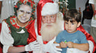 Papai Noel chega ao FestNatal