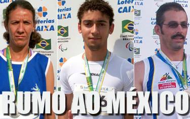 Para-atletas de Araxá são pré-convocados para Seleção Brasileira de Atletismo