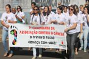 Associação realiza passeata no Dia Mundial contra o Câncer