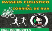 Inscrições para Passeio Ciclístico e Corrida podem ser feitas no local do evento