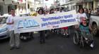 Passeata da Inclusão marca Semana da Pessoa com Deficiência