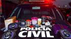 Homem é preso com grande quantidade de drogas e materiais de procedência duvidosa