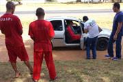 Polícia Civil faz reconstituição do assassinato do taxista Valdecy