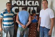 Casal suspeito de tentativa de homicídio é preso pela Polícia Civil