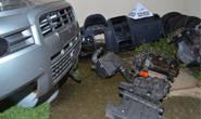 PM apreende peças de veículos em situação irregular e prende responsável