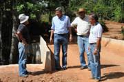 Prefeitura conclui construção da ponte sobre o Pirapitinga