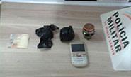 Polícia Militar prende indivíduo por envolvimento com o tráfico de drogas