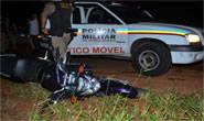 Motociclista é preso durante perseguição policial