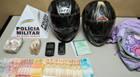 PM prende casal que trazia 760 gramas de crack de Uberaba