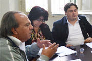Prefeito interino se reúne com secretários municipais