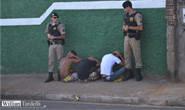 PM apreende suspeitos com réplica de arma e grande quantidade de drogas