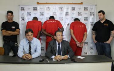 Polícia Civil apresenta autor de latrocínio do comerciante Enildo Correa