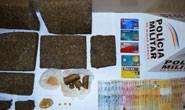 Polícia Militar prende indivíduos por tráfico de drogas