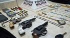 Operação da PM prende três suspeitos por envolvimento em assaltos na região