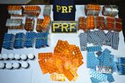 PRF apreende cartelas de anabolizantes e estimulantes sexuais.