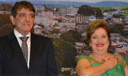 Aracely e Lídia são empossados prefeito e vice de Araxá