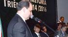 Emílio Parolini toma posse na presidência da Federaminas