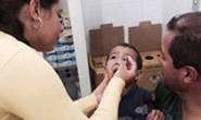 Campanha de vacinação contra a pólio atinge 35% da meta