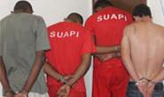 Polícia Civil apresenta acusados de homicídios e assaltos