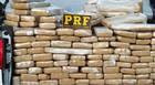 Mais de 900 quilos de maconha são apreendidos na BR-262