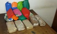PRF apreende 18 quilos de pasta base de cocaína na BR-262