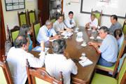 Reunião define implantação da rede elétrica subterrânea da Antônio Carlos