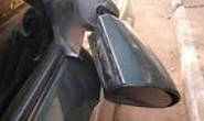 PM registra dano a veículo em estacionamento particular