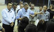 Jeová se reúne com moradores no Bairro Urciano Lemos
