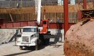 Estrutura metálica do futuro Teatro Municipal começa a ser instalada