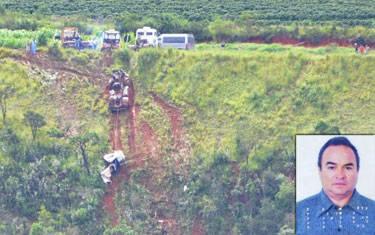 Motorista morre em acidente na BR-262