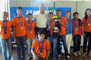Equipe de robótica Adventure Bot de Araxá é vencedora do Campeonato Mineiro.