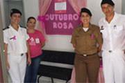 Polícia Militar e Sesc promovem ações na Campanha Outubro Rosa