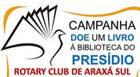Rotary Sul inicia campanha de arrecadação de livros para o presídio