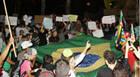 Mais de 3 mil manifestantes vão às ruas em Araxá