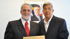 Jeová apresenta reivindicações ao secretário estadual Carlos Melles