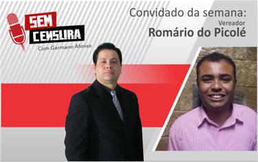 Romário diz que vereadores tiveram atitude ruim perante a sociedade