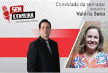 Valéria Sena afirma que não é candidata a primeira secretaria da Mesa Diretora