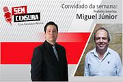 Miguel Júnior tentará reeleição à presidência da Câmara e não descarta candidatura a prefeito
