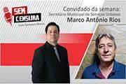 Secretário explica a municipalização da iluminação pública em Araxá