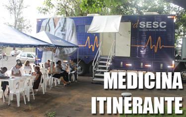 Araxá recebe unidade móvel Med Sesc Mamografia
