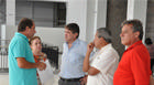 Prefeito Aracely e equipe visitam futuras instalações do Shopping Boulervard Garden