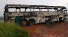 Ônibus de professores que voltavam de congresso em Araxá sofre acidente