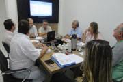 Diretoria do SindiComércio faz primeira reunião em nova sede